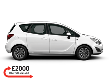 Vehicle details for 65 Vauxhall Meriva