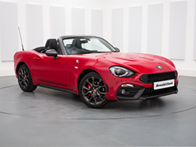 Vehicle details for Brand New Abarth 124 Spider