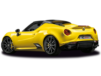 Vehicle details for Brand New Alfa Romeo 4C Spider