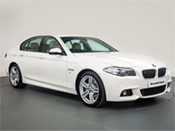 Vehicle details for 16 BMW 5 Series
