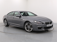 Vehicle details for Brand New 17 Plate BMW 6 Series