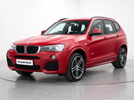 Vehicle details for Brand New 17 Plate BMW X3