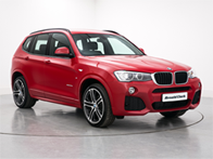 Vehicle details for 16 BMW X3