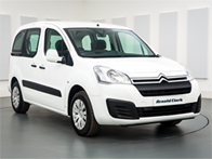 Vehicle details for 16 Citroen Berlingo Multispace