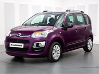 Vehicle details for 16 Citroen C3 Picasso