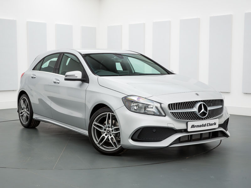 Nearly New 17 Mercedes Benz A Class A200d Amg Line 5dr Auto Arnold