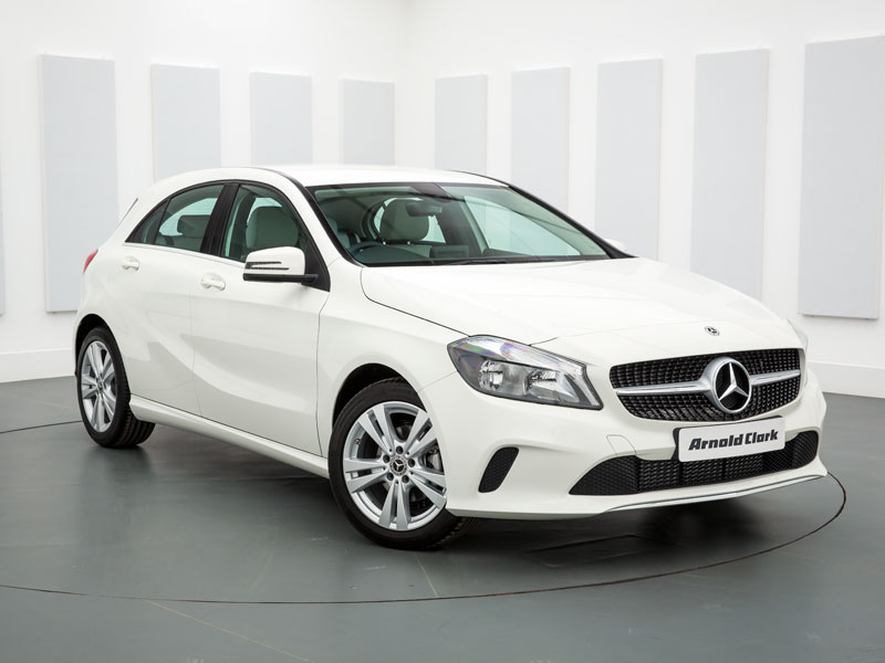 Mercedes Benz A Class >> Nearly New Mercedes Benz A Class Cars For Sale Arnold Clark