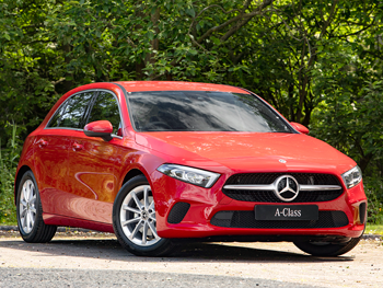 Vehicle details for Brand New 68 Plate Mercedes-Benz A Class