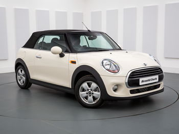 Vehicle details for Brand New 67 Plate MINI Convertible