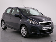 Vehicle details for Brand New Peugeot 108