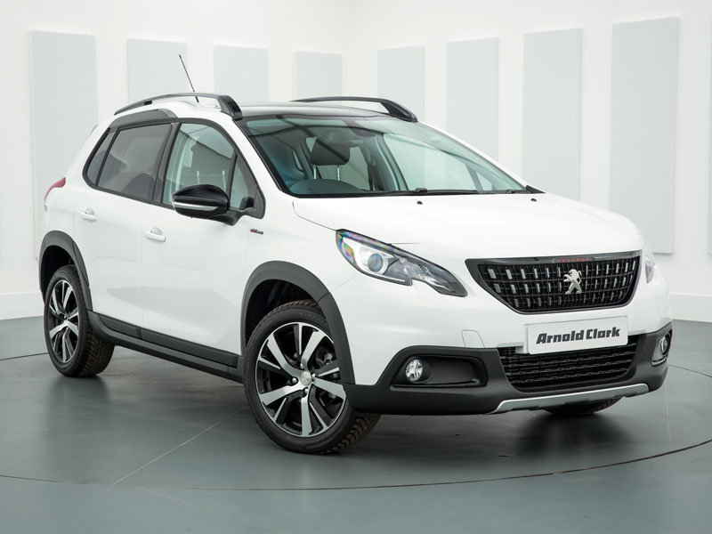 nearly new 67 peugeot 2008 1 2 puretech 110 gt line 5dr arnold clark. Black Bedroom Furniture Sets. Home Design Ideas