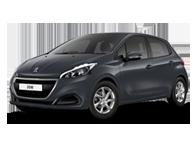 Vehicle details for 17 Peugeot 208