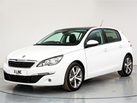 Vehicle details for 16 Peugeot 308