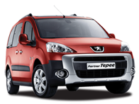 Vehicle details for Brand New Peugeot Partner Tepee