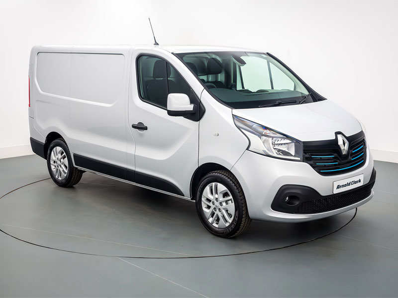 used 18 renault trafic ll29 dci 120 sport nav van arnold clark. Black Bedroom Furniture Sets. Home Design Ideas