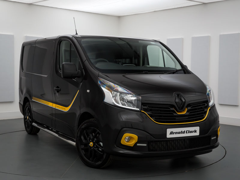 brand new renault trafic sl27 dci 120 formula edition van arnold clark. Black Bedroom Furniture Sets. Home Design Ideas