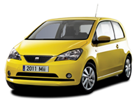 Vehicle details for Brand New 66 Plate Seat Mii
