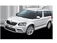 Vehicle details for 17 Skoda Yeti