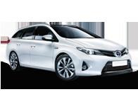 Vehicle details for 13 Toyota Auris