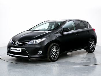 Vehicle details for 16 Toyota Auris