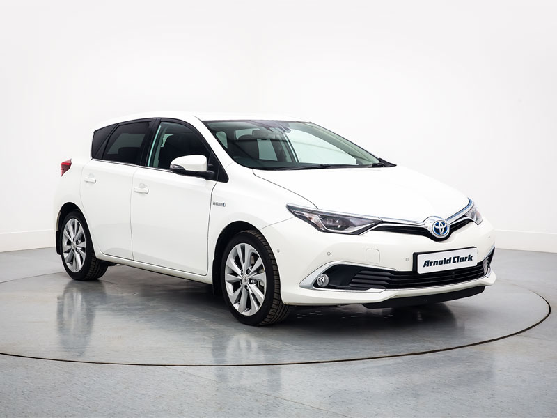 Nearly New Toyota Auris Cars For Sale Arnold Clark