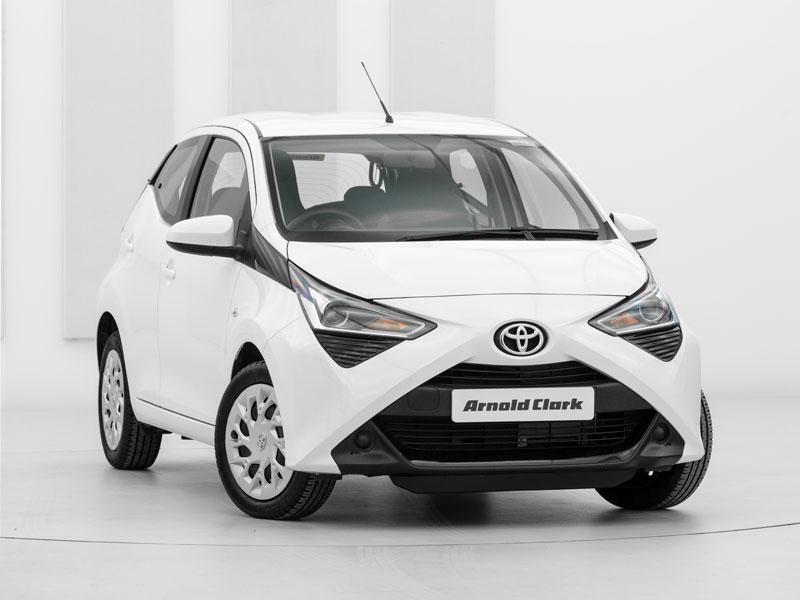 Brand New Toyota Aygo 1 0 Vvt I X Play 5dr X Shift Arnold Clark