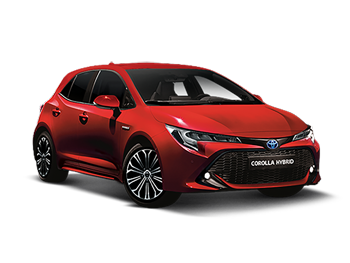Vehicle details for Brand New Toyota Corolla