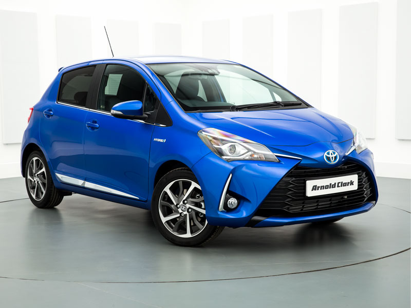 Brand New 19 Plate Toyota Yaris 1 5 Hybrid Icon Tech 5dr