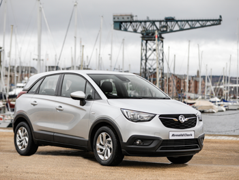 Vehicle details for 18 Vauxhall Crossland X
