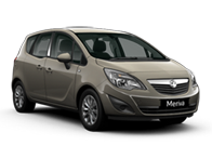 Vehicle details for 16 Vauxhall Meriva