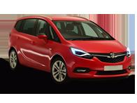 Vehicle details for 17 Vauxhall Zafira