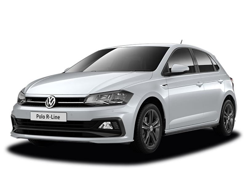brand new 68 plate volkswagen polo 1 0 tsi 95 r line 5dr arnold clark. Black Bedroom Furniture Sets. Home Design Ideas