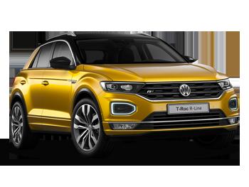 Vehicle details for Brand New Volkswagen T-Roc